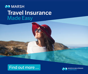 Travel Insurance advertisement